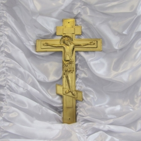 Крест на крышку гроба с распятием